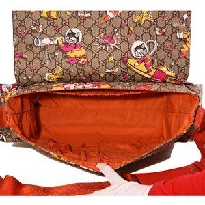 3ec4a883a41 Gucci Bags - Gucci GG Supreme Canvas Cat Space Moon Diaper Bag